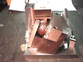 Spiral Bevel gear test fixture